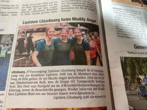 muddy angel Zeitungsartikel
